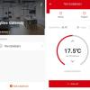 Set intelligente Thermostatköpfe Secutek Smart WiFi SSW-SEA801 und Gateway