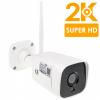 Super HD 5MP IP kamera se záznamem Secutek SBS-B19W s interním mikrofonem a reproduktorem