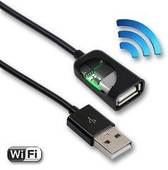 AirDrive Keylogger v USB kabelu