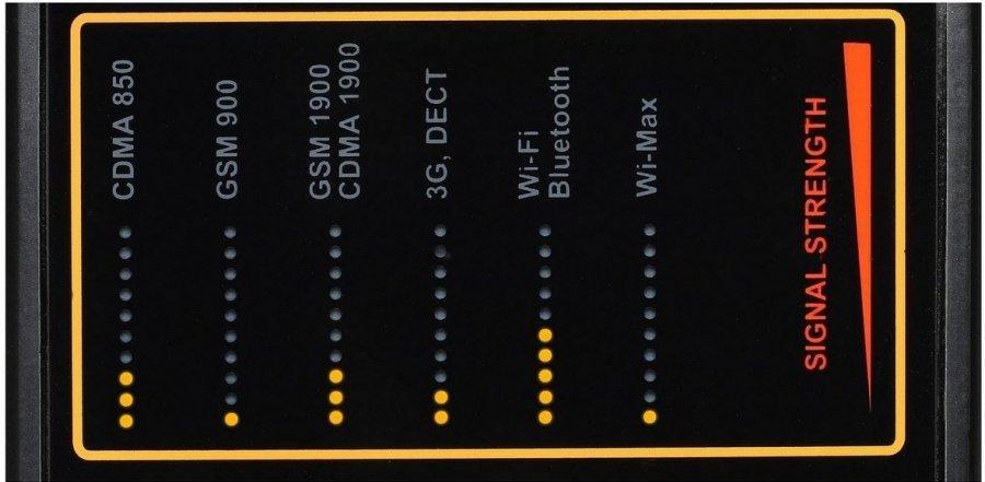 Detektor bezdrôtových signálov Protect 1207i