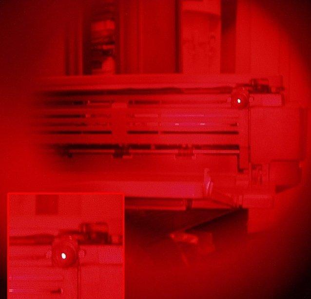 Rejtett kamera és kameralencse detektor WEGA-i