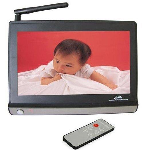 """2'4GHz Analogowy odbiornik z 7"""" wyświetlaczem LCD"""