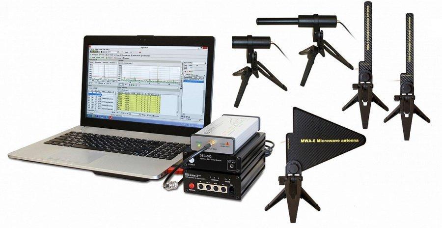 Spektrální analyzátor Delta + vyhodnocovací SW