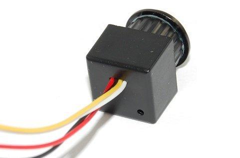Širokouhlá CCTV minikamera - 90°, 0,1 LUX