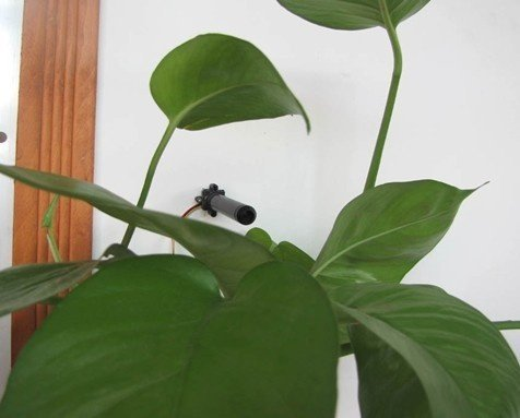 Mini CCTV kamera s teleobjektívom - 8°; 0,008 LUX