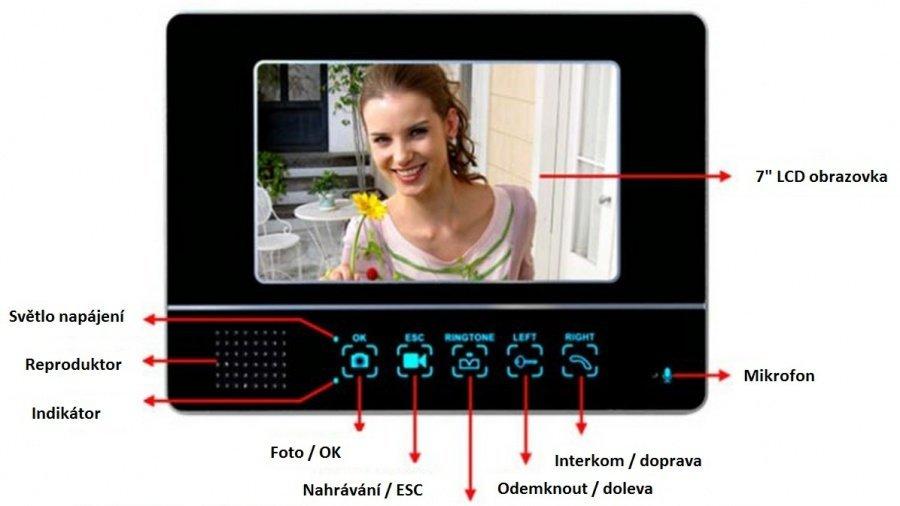 Drahtlose 2,4 GHz Videoklingel
