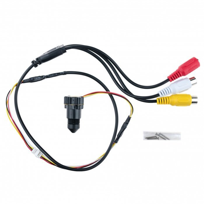 CCTV Minikamera mit dem Teleobjektiv – 30°; 0,008 LUX; 520TVL