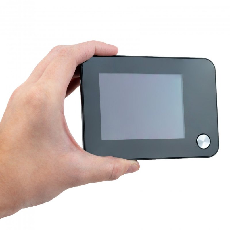 """Digitális ajtókitekintő csengővel - 3,5 """"LCD, IR"""