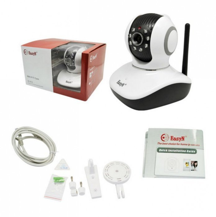 EasyN H3-V10D - PTZ, WiFi IP kamera, IR, P2P, 720p