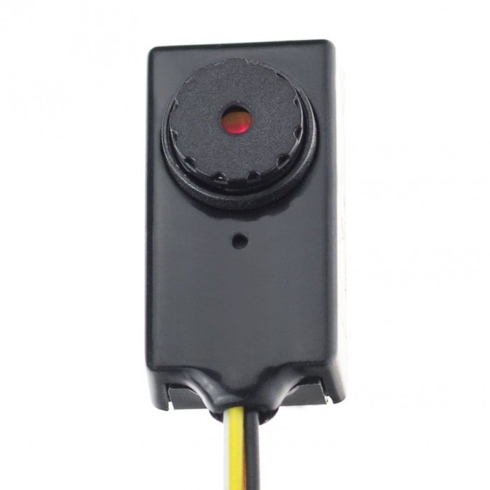 Minikamera CCTV - 520TVL, 0,008 luksa, 55° pinhole