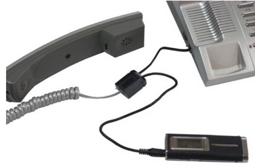 Adaptér pro nahrávání hovorů z pevné linky