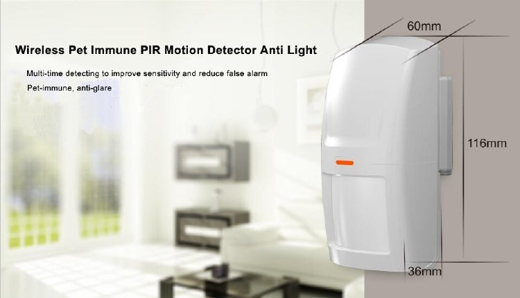 Drahtloser PIR-Sensor HW-03D