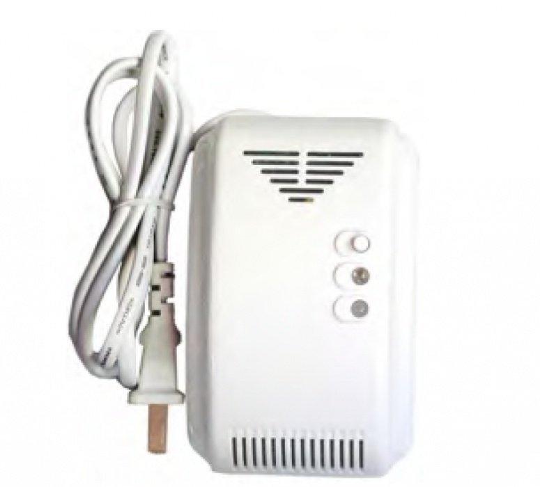 Bezdrôtový detektor úniku plynu