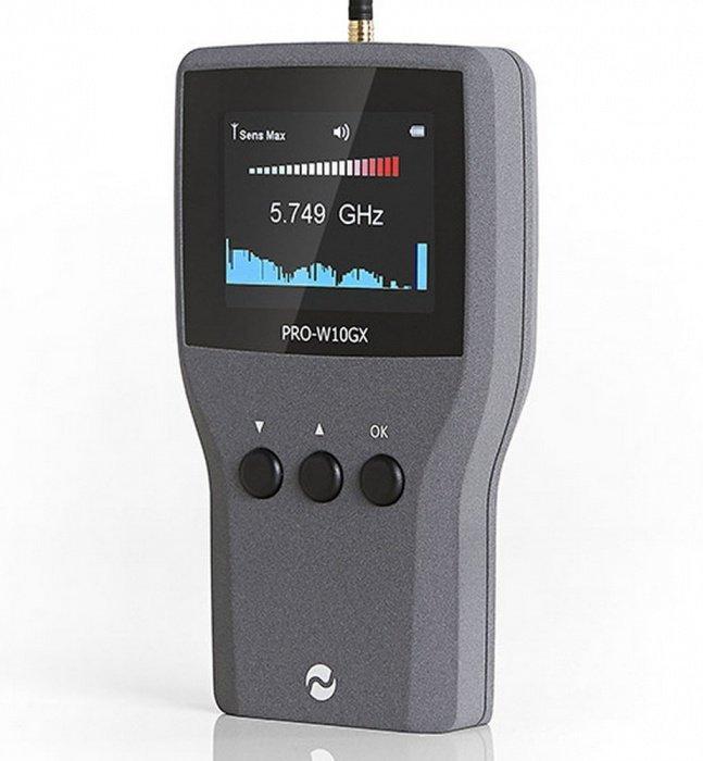 Profesionálny detektor rádiových signálov PRO-W10GX