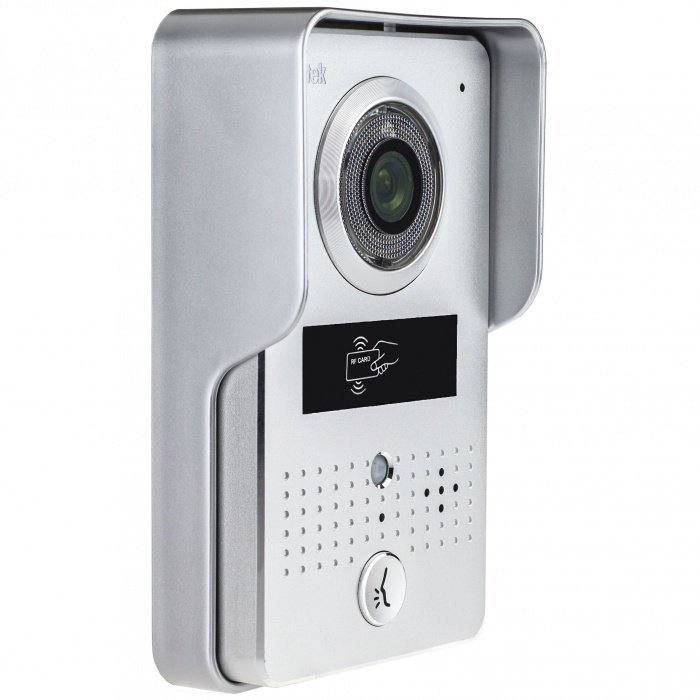 Widedomofon Secutek z czytnikiem RFID CAM125A+VDP322