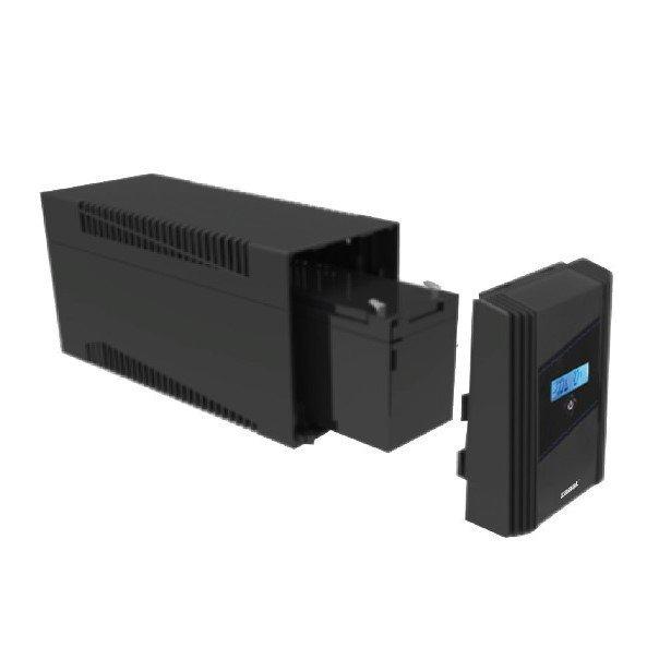 ZABAT PU650VA biztonsági tápforrás UPS
