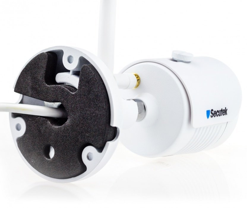 WiFi kamerový systém Secutek SLG-WIFI3604D1S400 - 4x4Mpix kamera, NVR