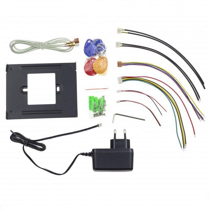 Videozvonček Secutek s RFID čítačkou CAM215A+VDP322