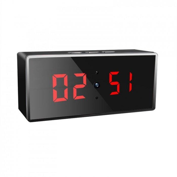 Digitální hodiny s Full HD WiFi kamerou Secutek SAH-IP009