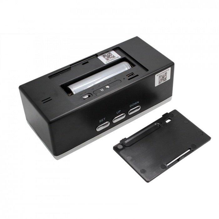 Digitaluhr mit Full HD WLAN Kamera Secutek SAH-IP009