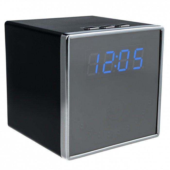 BAZAR - Digitální hodiny se skrytou Full HD kamerou, IR Secutek SAH-TC029