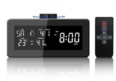 Radiobudík s meteostanicí a skrytou Full HD kamerou Secutek SAH-DV80