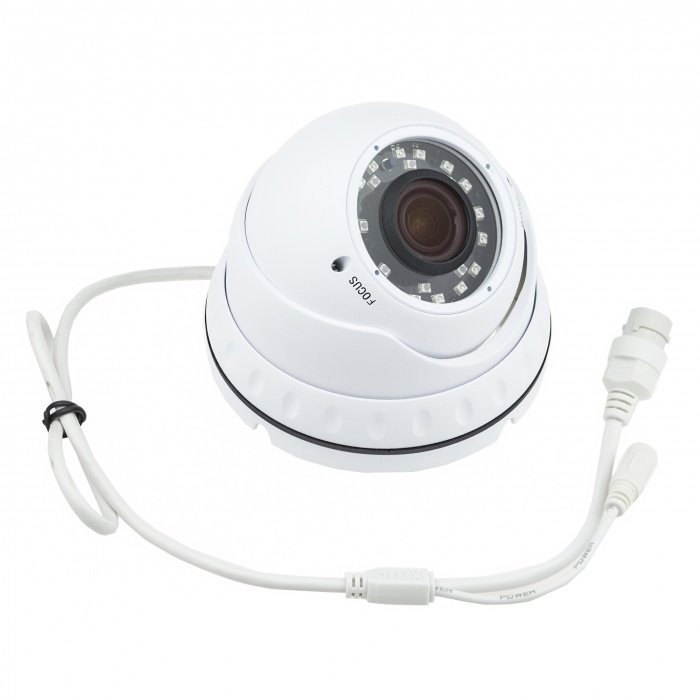 IP dome kamera Secutek SLG-LIRDNTS200, IR 30m, objektiv 2,8 - 12 mm