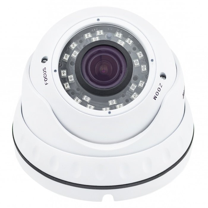 IP dome kamera Secutek SLG-LIRDNTSL200, IR 30m, objektiv 2,8 - 12 mm