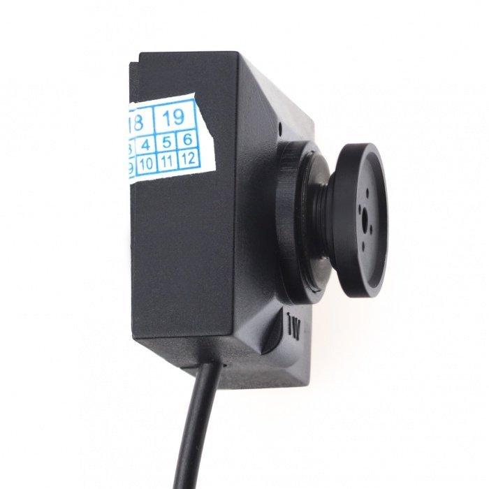 Bezdrôtová 200mW kamera v gombíku PROFI