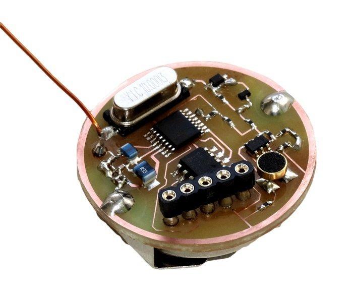 UHF odposluch - 20mW, VOX