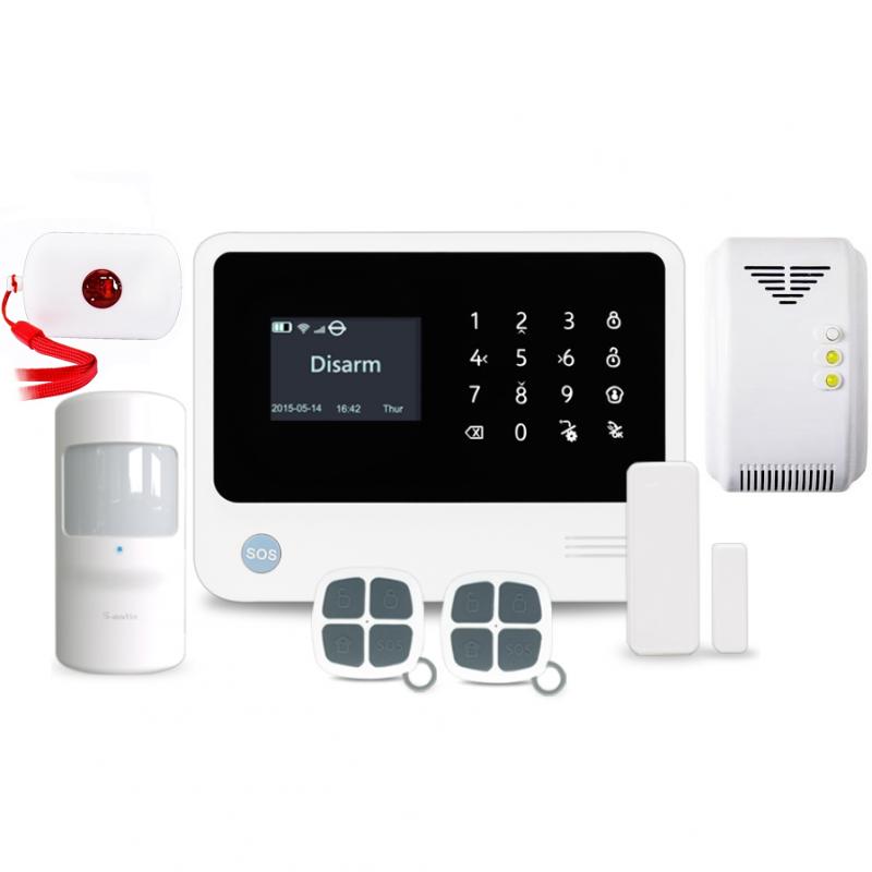 GSM alarm s WiFi - DOMÁCNOST