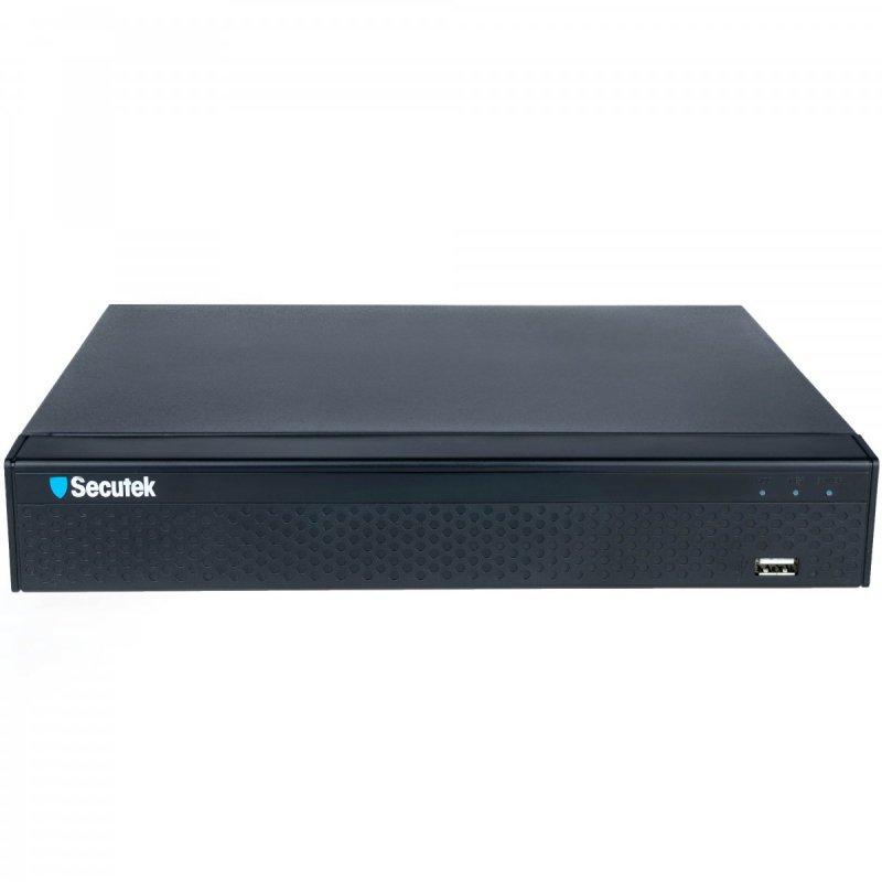 AHD DVR felvevő készülék analóg kamerákhoz - 8CH, 2x4TB HDD, 720p