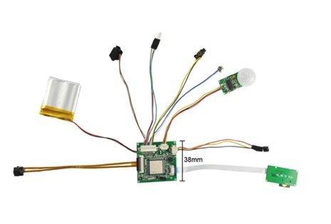 Full HD модул за камера с PIR сензор - издръжливост до 120 дни, 128GB