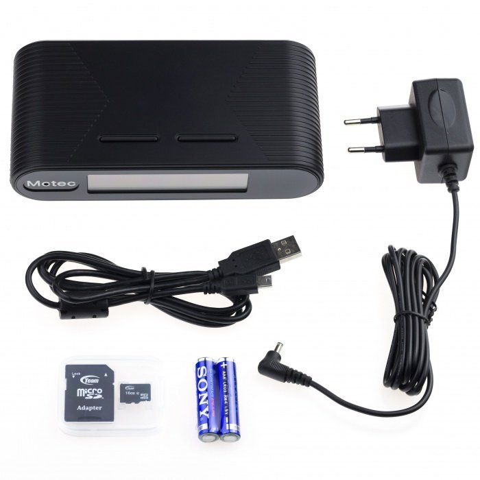 Tischuhr Lawmate PV-FM20HDWI mit IP Kamera - 1080p, WLAN, IR