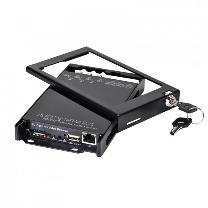 4CH FULL HD DVR do auta, GPS