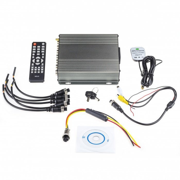 4CH AHD DVR do auta s GPS modulem