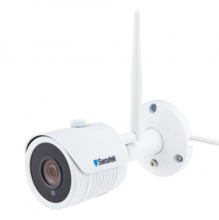 WiFi kamerový systém Secutek SLG-WIFI2004PG1SE200 - 4x2Mpix kamera, NVR
