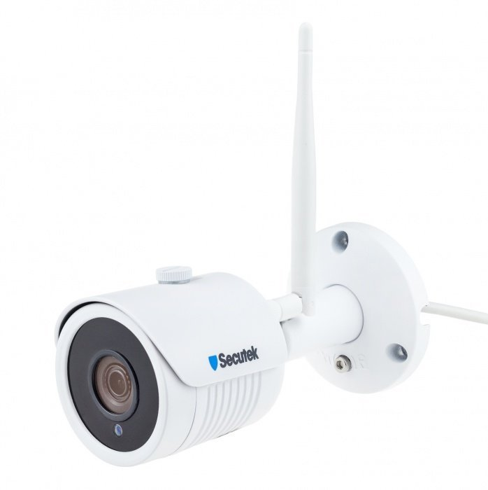 WLAN Kamerasystem Secutek SLG-WIFI2004PG1SE200 - 4x2Mpix Kamera, NVR