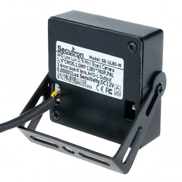 Secutron UltraCam SE-UL60-M - mini low lux AHD kamera