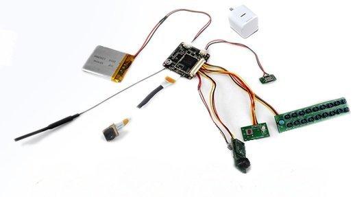 WiFi Full HD kamerový modul s PIR čidlem