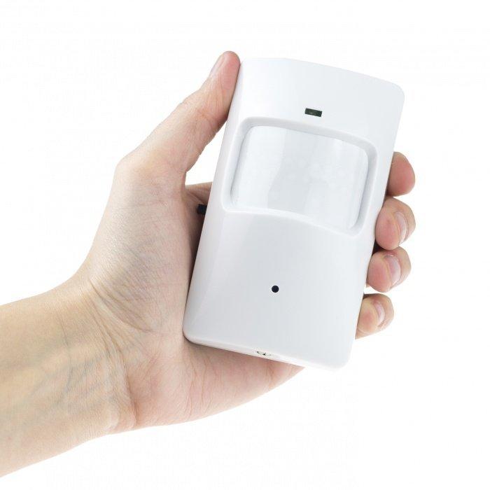 Skrytá WiFi kamera v PIR čidle s dlhou výdržou
