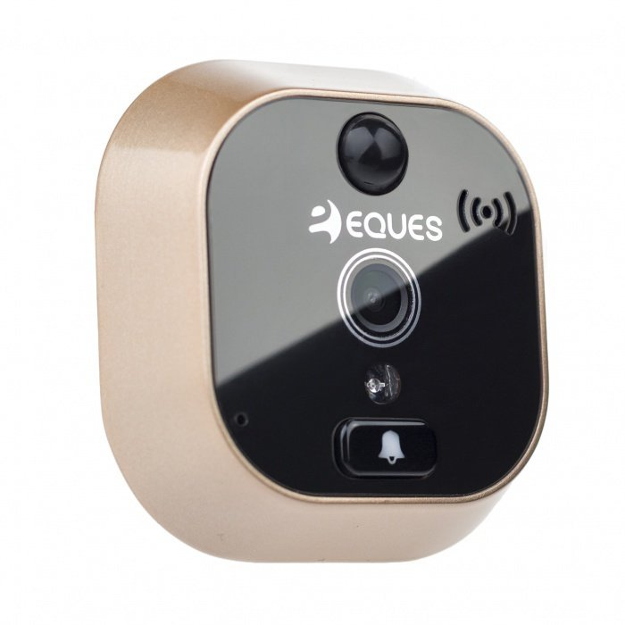 Digitální dveřní Wi-Fi kukátko Eques VEIU mini