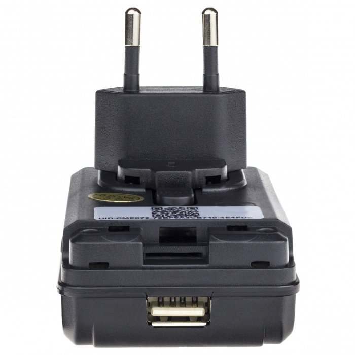 Skrytá WiFi kamera v sieťovom adaptéri Secutek SAH-IP008-2