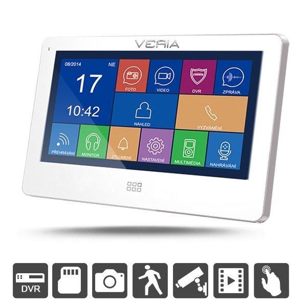"""LCD monitor Veria 7077 - dotykové 7"""" LCD více barev Veria Bílá barva více barev"""