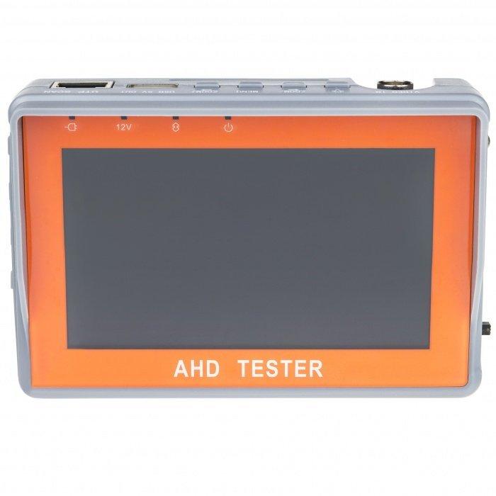 """4.3"""" AHD CCTV tesztelő képernyő"""