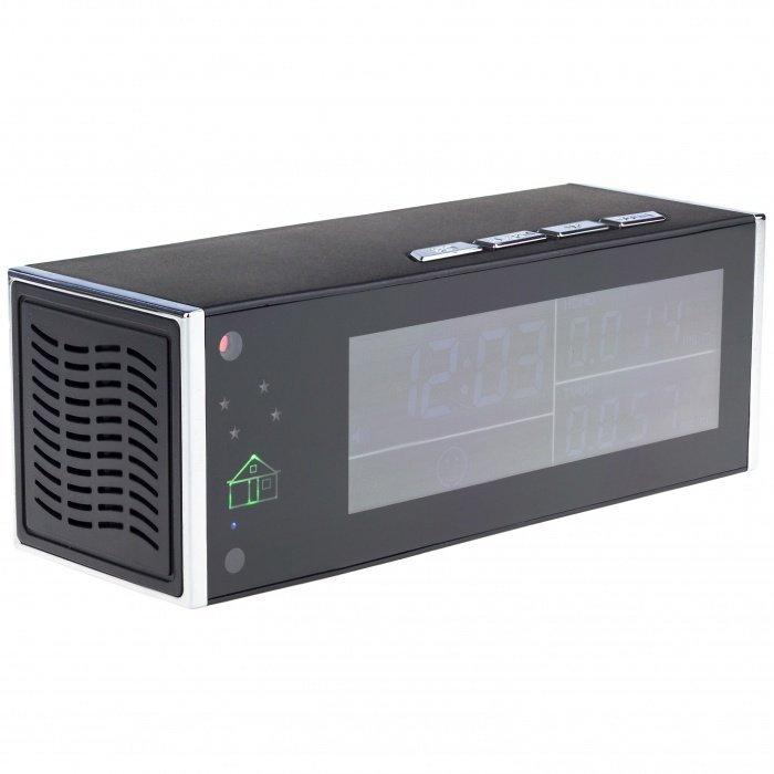 Monitor kvality ovzduší se skrytou Full HD Wi-Fi kamerou Secutek SAH-IP70