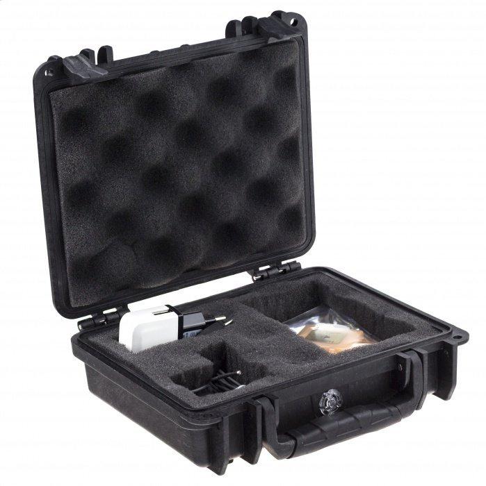 Set mikroslúchadla a GSM boxu s knowles mikrofónom