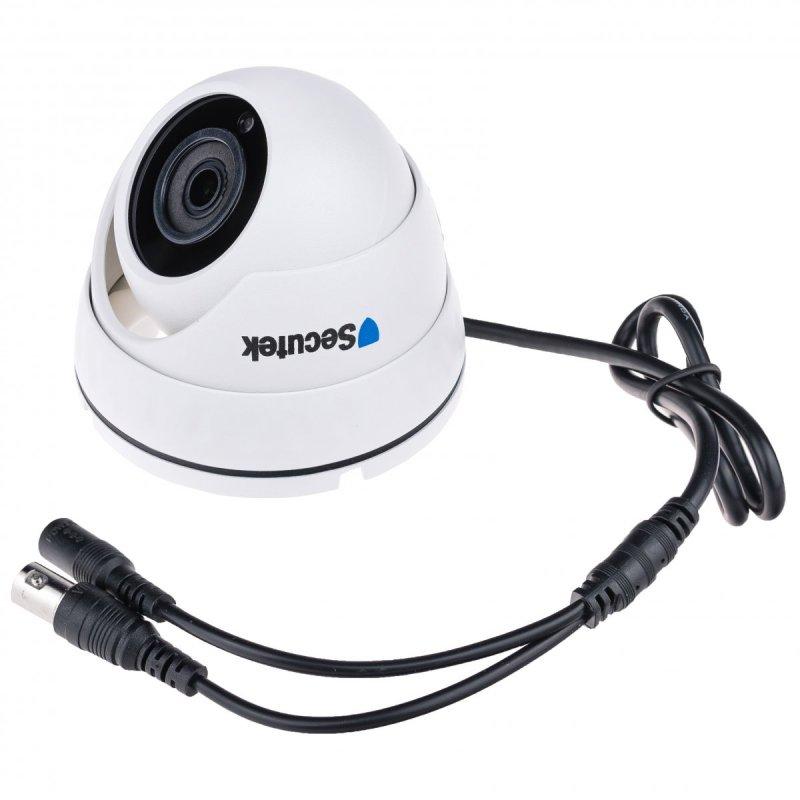 Kamerový set Secutek SLG-XVRA2004D4M200 - 4x vonkajšie kamery, 1080P