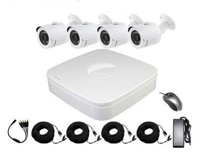 4-kamerový set + AHD DVR