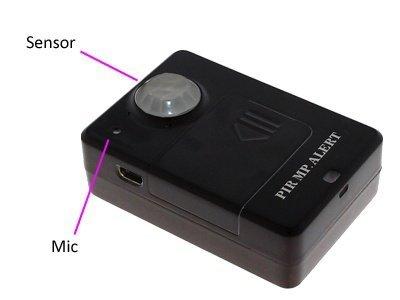 GSM odposlech s detekcí pohybu